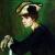1906, Helene von der Leyen : Mädchen mit Hut