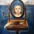 1927, Wladimir von Zabotin (né en Ukraine) : Mädchen im Spiegel