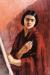 1930, Amrita Sher-Gil : Autoportrait au chevalet
