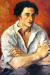 1930, Amrita Sher-Gil : Portrait of a Young Man (Boris Tazlitsky)