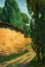 1931, Amrita Sher-Gil : Untitled (Zebegeny Landscape)