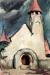 1932, Amrita Sher-Gil : Untitled (Hungarian Village Church)
