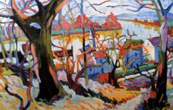 1904, André Derain : La Seine à Carrières-sur-Seine