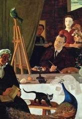 1939, André Derain : Le peintre et sa famille