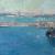 1907, Arthur Streeton : Sydney Harbour - vendu 2 millions de $ en 2016