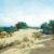 1916, James Ashton (né sur l'île de Man, prof à l'Académie des Arts d'Adélaïde de Ivor Hele, Hans Heysen, Hayley Lever, Arthur Baker-Clack, Will Ashton) : Sand dunes