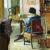 1920, Bessie Davidson (a vécu à Paris de 1903 à 1907, puis de 1910 à sa mort en 1965) : Madame Le Roy assise de dos dans un interieur
