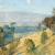 1925, Jessie Traill (peintre et graveuse) : Dandenongs landscape