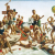 1938-40, Charles Meere (né en Angleterre en 1890, arrive en Australie en 1932) : Australian beach pattern