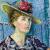 1940, Edith Holmes : Autoportrait