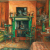 1972, Margaret Olley : Interior with Green Fireplace