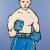 2003, Adam Cullen : Boxer