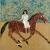 2014, Jenny Watson : Trotting horse