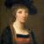 1757, Angelica Kauffman : Autoportrait