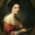 1770, Germaine de Staël : Autoportrait