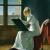 1801, Marie-Denise Villers : Jeune femme au dessin, autoportrait résumé