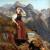 1869, Anna Stainer-Knittel : Autoportrait