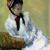 1878, Mary Cassatt : Autoportrait