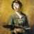 1885, Sabine Lepsius : Autoportrait