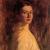 1899, Violet Teague : Self-portrait