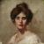 1902, Bertha May Ingle : Self Portrait
