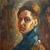 1907, Nadezda Petrovic : Autoportrait