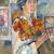 1907, Natalia Gontcharova : Autoportrait