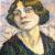 1905-10, Lucie Cousturier : Autoportrait