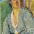 1915, Vanessa Bell : Self-portrait