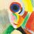 1916, Sonia Delaunay : Autoportrait