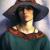 1923, Mabel Alvarez : Self-portrait