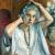 1924, Hanna Pauli : Dans le miroir (autoportrait)