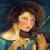 1928, Antonietta Raphael : Autoritratto con violino