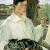 1928, Lotte Laserstein : Selbstportrat mit Katze