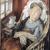 1930, Maria Blanchard : La convalescente (elle même, atteinte de la tuberculose, dont elle mourra deux ans plus tard)