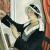 1931, Mary Adshead : Autoportrait
