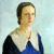 1932, Ana Weiss de Rossi : Autorretrato