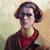 1932, Anna Lois White : Autoportrait