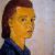 1940, Charlotte Salomon (meurt à Auschwitz en 1943, enceinte de 5 mois) : Self-portrait