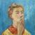 1940, Tove Jansson : Autoportrait