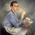 1940s, Jadwiga Przeradzka Jedrzejewska : Autoportrait