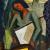 1942, Jean Appleton : Self-portrait