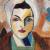 1943, Saloua Raouda Choucair : Autoportrait