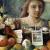 1948, Margaret Olley : Portrait in a mirror
