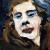 1953, Grace Hartigan : Self-Portrait in Fur
