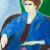 1950-56, Betty Goodwin : Self-Portrait