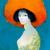 1968, Leonor Fini : Autoportrait