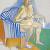 1980, Alice Neel : Self-portrait