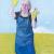 2006, Lena Cronqvist : Sjalvportratt med gula handdockor