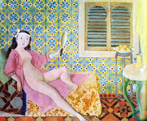Quelques peintres fran ais du xxe si cle peinture et for Balthus la chambre turque